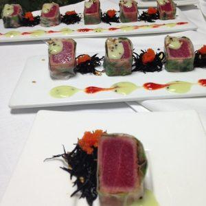 Food Photo Tuna Tataki W Hotel